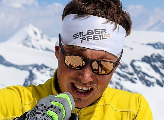 SILBERPFEIL Energy Drink Mountain David Wallmann Skimo mountain